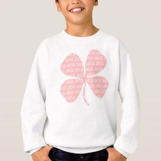 Sweatshirt Shamrock rose chanceux irlandais Ava