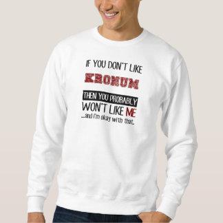Sweatshirt Si vous n'aimez pas le cool de Kronum