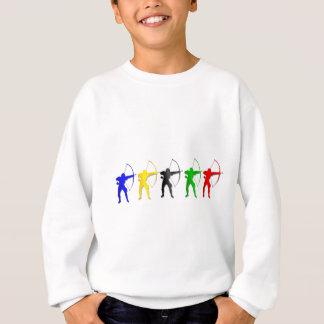 Sweatshirt Sports d'Archer de jeux   d'été de tir à l'arc