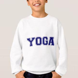 Sweatshirt Style d'université de yoga