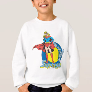 Sweatshirt Supergirl avec le logo