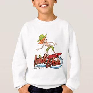Sweatshirt Surfer de sillage d'Irlandais