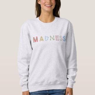 Sweatshirt Sweat-shirt Madness Gris