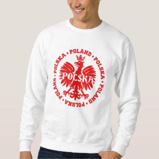 Sweatshirt Symbole couronné par Polska de la Pologne Eagle