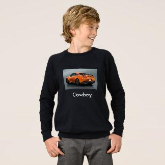 Sweatshirt t-strits de tube de cowboy