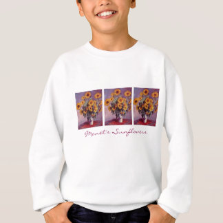 Sweatshirt Tournesols par Claude Monet