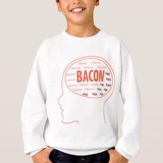 Sweatshirt Tout que je pense est lard