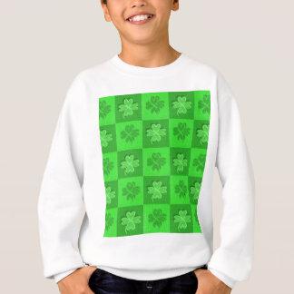 Sweatshirt Trèfles de shamrock