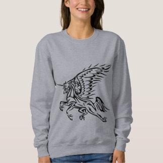 Sweatshirt tribal de Pegasus-Licorne