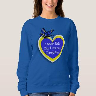 Sweatshirt Usage de CONSCIENCE de SYNDROME DE DOWN ceci pour