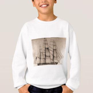 Sweatshirt USS Columbus Sailplan