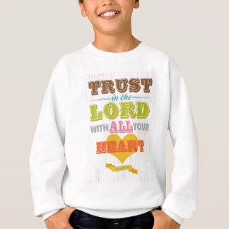 Sweatshirt Vers scriptural chrétien de bible - 3:5 de