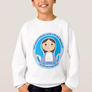 Sweatshirt Vierge Marie béni