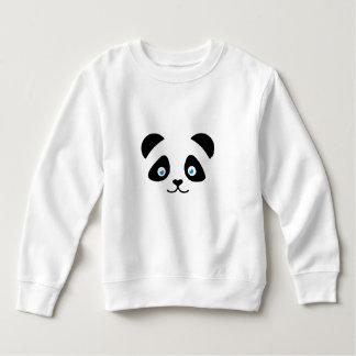 Sweatshirt visage d'ours panda