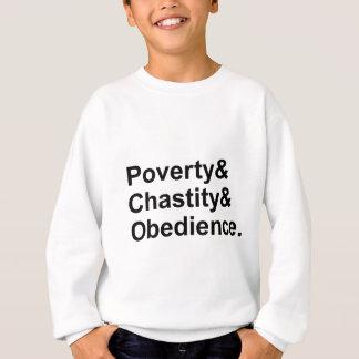 Sweatshirt Voeux de Monastic de l'obéissance | de chasteté de