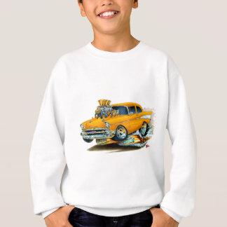 Sweatshirt Voiture 1957 orange de Chevy 150-210
