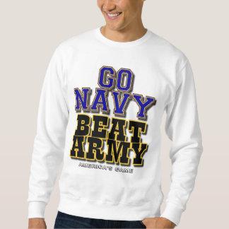 Sweatshirt Vont l'armée de battement de marine - le jeu de