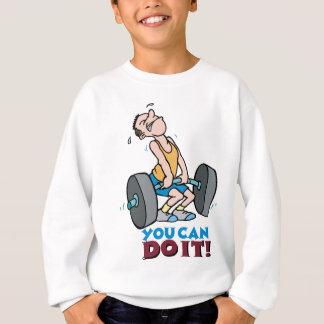 Sweatshirt Vous pouvez le faire - jeu de mot