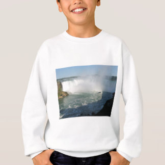 Sweatshirt Vue de chutes : Niagara Etats-Unis Canada