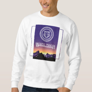 Sweatshirt White Tiger Sweater (For hiver)