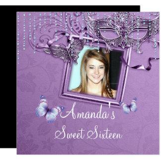 Sweet sixteen, invitation d'anniversaire de boule