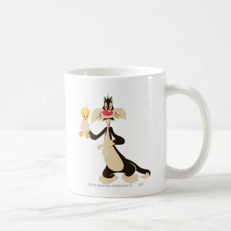 Sylvester avec Tweety Tasses À Café
