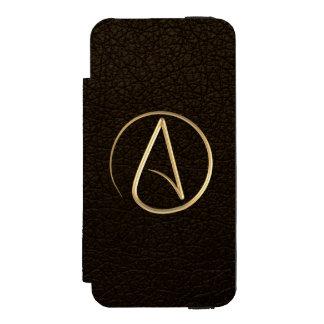 Symbole athée coque-portefeuille iPhone 5 incipio watson™