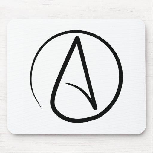 Symbole ath e mousepad tapis de souris zazzle for Surface minimum bureau code du travail