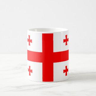 symbole de drapeau de pays de la Géorgie Mug