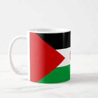 symbole de nation de drapeau de pays de la Sahara Mug