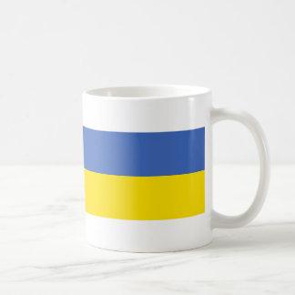 symbole des textes de nom de drapeau de pays de mug