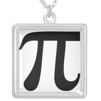 """Symbole géant de """"pi"""" collier"""