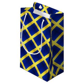 Symbole suédois affligé de drapeau petit sac cadeau