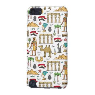 Symboles de couleur de motif de l'Egypte Coque iPod Touch 5G