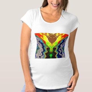 Symboles décoratifs artistiques d'AMUSEMENT T-Shirt De Maternité