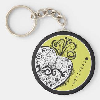 Symboles du Portugal - Filigrana en filigrane Porte-clés
