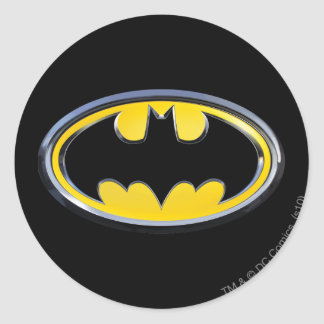Symbool | van Batman Klassiek Logo Ronde Sticker