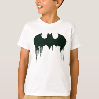 Symbool | van Batman Logo Spraypaint T Shirt