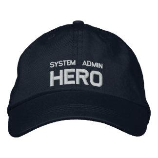 System Admin Hero CAP Casquette Brodée