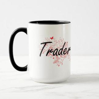 Système de travail artistique de commerçant avec mug