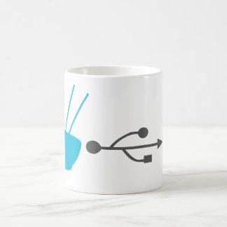 Système d'efficacité d'entrée de nouille mug