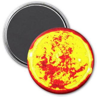 Système solaire de Sun Magnet Rond 7,50 Cm