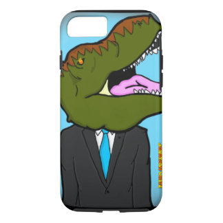 T-Rex dans un costume Coque iPhone 8/7