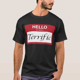 T-shirt 001 terribles