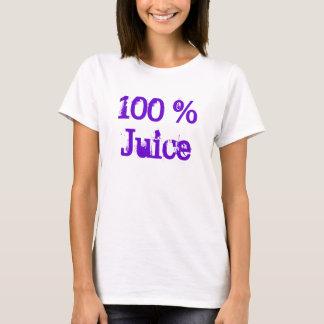 T-shirt 100% de jus