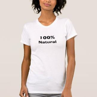 T-shirt 100%, naturel