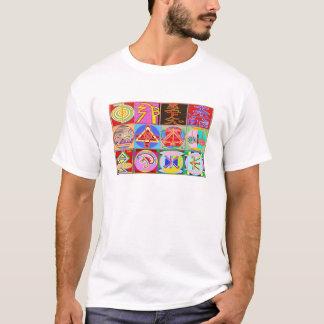 T-shirt 12 conceptions de guérison de Reiki n Karuna Reiki