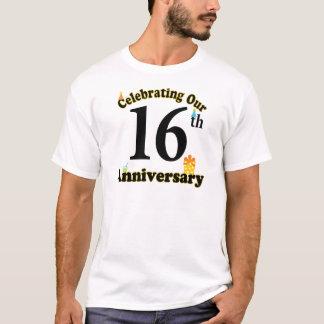 T-shirt 16ème Anniversaire