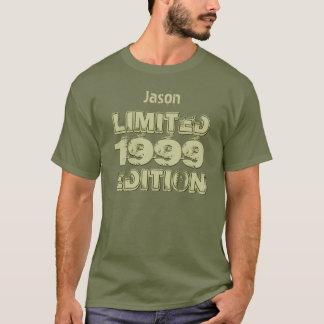 T-shirt 16ème anniversaire 1999 de Ltd Ed ou toute fatigue