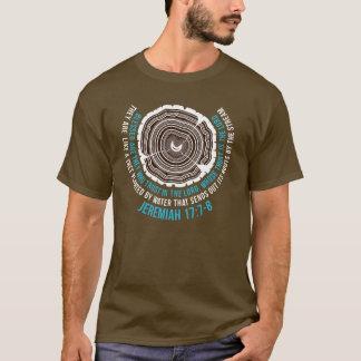 T-shirt 17:7 de Jérémie - 8 anneaux d'arbre